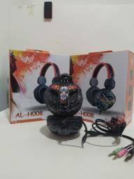 FONE GAMER LTOMEX AL-H008 (Loja kazuo stores)