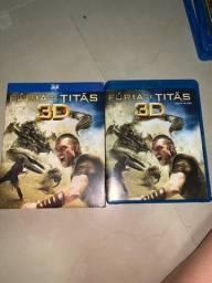 DVD Blu-ray 3D Fúria de Titãs