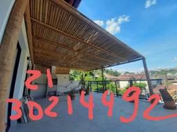 Pergolados madeira em Búzios 2130214492 bambu tetos