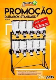 Durabox Dispenser para ração Pet Shop Plaspet 40L 15kg cada