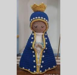 Nossa senhora Aparecida em crochê