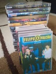 DVDs sertanejos