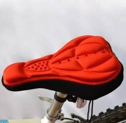 Capa acolchoada para assento da bike