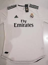 a7ae093990 Camisa Real Madrid I Versão Player 18 19 - G