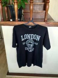 1a793370e1 Lote de 5 camisas masculinas (tamanho G)