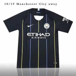 0390baeeea Camisa Original Manchester City 2018   2019 - Frete Grátis