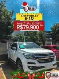 Chevrolet S-10 Pick-up Pick-Up LTZ 2.5 Flex 4x2 CD - 2017
