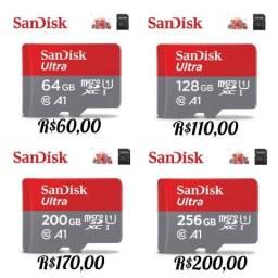 Cartão De Memória Sandisk Ultra (Original & Lacrado)
