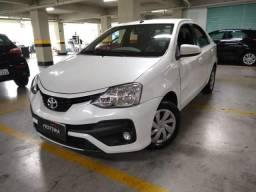 ETIOS 2017/2018 1.5 XS SEDAN 16V FLEX 4P AUTOMÁTICO - 2018