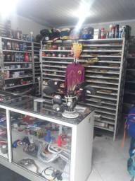 Oficina de motos completa,com retifica,torno,fresadora