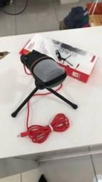 Microfone com Fio Condensador
