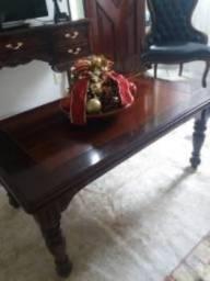 Mesa de Centro madeira maciça torneada