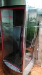 Assadeira de frango em vidro temperado