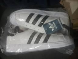 Tênis Adidas SuperStar 1° Linha N° 42 zero Sem Uso!