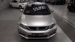 Honda civic 2.0 lxr 16v flex 4p automatico - 2016