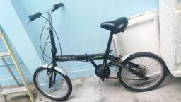 Bicicleta dobrável em perfeito estado