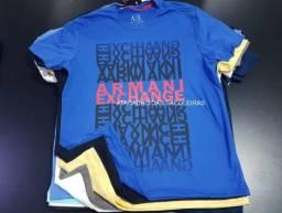 74463f7c83 Sacoleiras - 10 Camisetas Malha Premium fio 30.1 - 100% Algodão Marcas  Famosas