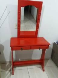 Penteadeira c/ espelho e gaveta