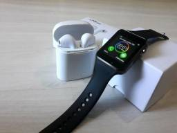 SmartWatch A1 + Fone Bluetooth I7s