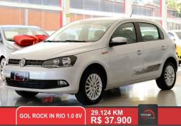 VW - VolksWagen Gol Rock in Rio 1.0 Mi Total Flex 8V 5p 2016 Flex
