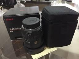 Lente sigma 10-20mm f3.5 exdc