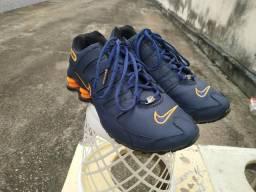 Vendo Tênis Shox Azul/Laranja 40-41