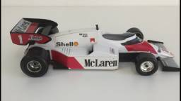 Rara Miniatura Maclaren Senna MP4/2 - Escala 1/24 - Burago - Made In Italy