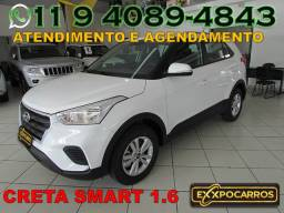 Hyundai Creta Smart 1.6 Flex - Automatica - Ano 2019 - Bem Conservada