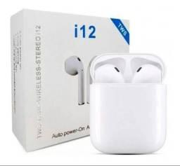 Fone de ouvido bluetooth i12 TWS