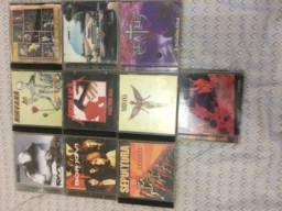 Lote 10 CDs de Rock