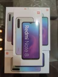 ELEGANTE!! Redmi Note 8 Da Xiaomi.. Novo lacrado com garantia e entrega imediata