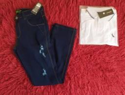 Camisa , Calsa jeans e Bermudas