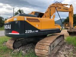 Escavadeira hyundai 220 lc9s