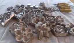 Conjunto completo de frisadores de flores de E.V.A. e sabonetes