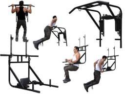 Barra Multifuncional 4 em 1 para exercícios físicos