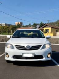 Corolla Aut branco 2014 gli 1.8