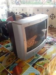 Televisão de 14 polegada cce