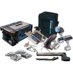 Maksipower 8 Multi Função 8 em 1 Blue Edition ? MP/8 BLUE - KIT Marcenaria