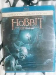 O Hobbit 1 e 2 Blu Ray