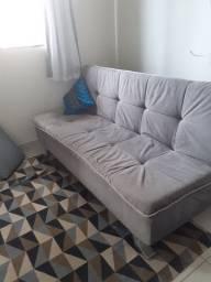 Sofá cama 03 lugares