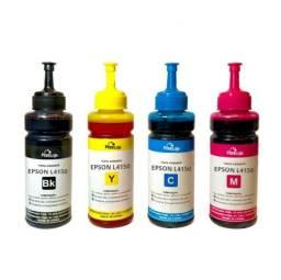 Tinta para impressoras Epson Canon e HP. Consulte os tamanhos e preços