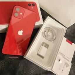 IPhone 11 Red 64GB poucos dias de uso