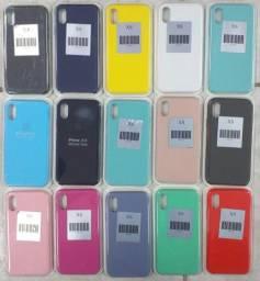 Cases Aveludadas para IPhones
