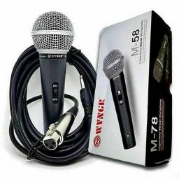 Microfone profissional M58