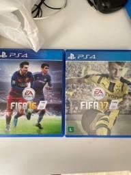 VENDO FIFA 16 e 17