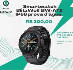 Smartwatch BlitzWolf BW-AT2,Tela IPS em HD, IP688prova d?água