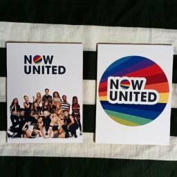 Kit quadros Now united