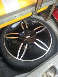 4 rodas 17 do  Fiat stilo