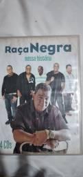 4 DVDs raça negra sucessos