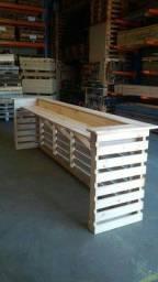 Balcoes de madeira